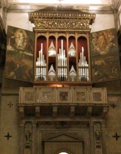 organo chiesa san salvador